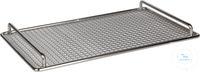 Bandeja de acero inoxidable para polySteribox® L Bandeja de acero inoxidable...