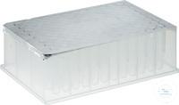 Universal aluminium film for Riplate® (DMSO resistant), -80 °C / +120 °C