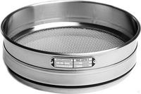 814Artikel ähnlich wie: Analysensieb Edelstahl Ø 150 mm Maschenweite * 125 µm Innenhöhe 50 mm mit...