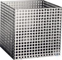 Korb aus Lochblech 8 mm Quadratlochung Edelstahl-Lochblech, W-Nr. 1.4313 Blechdicke 1 mm...