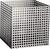 12 Artikel ähnlich wie: Korb aus Lochblech 8 mm Quadratlochung Edelstahl-Lochblech, W-Nr. 1.4305...
