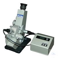 Abbe Refractometer Typ NAR-1T Liquid für Flüssig Proben - 1.3000 bis 1.7000...