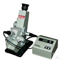 4T, Analog, nD 1.4700 - 1.8700 Abbe-Refraktometer für hohe nD-Messung 4T,...