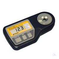 WM-7, digital, Refraktometer mit 7 Skalen für die Weinmessung, mit ATC WM-7,...