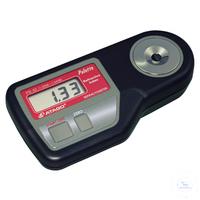 PR-RI, digital, nD 1.3306 - 1.4436, Refraktometer ''Palette'' wasserabweisend...