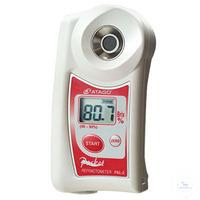 PAL-2, Taschen-Refraktometer, digital 45.0 - 93.0% Brix - ATC: 10°C bis 100°C...