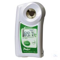 """PAL-3, digital, 0.0 - 93.0% Brix, Taschenrefraktometer """"PAL"""" mit ATC,..."""