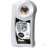 PAL-RI, Taschen-Refraktometer, digital nD 1.3306 - 1.5284 - ATC -...