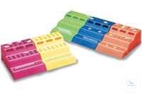 3-Wege Rack, PP Typ HS4289B, assortiert VE= 6 Stück - blau, grün, weiss, rot,...