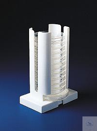 F18982-0002, Petrischalen- Ständer für 15 Schalen bis 102 mm Ø F18982-0002,...
