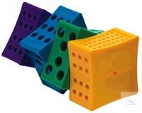 Rota-Rack, Röhrchengestell Typ HS29040A, assortiert lila, blau, grün & gelb -...