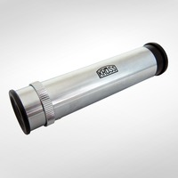 Handheld spectroscope with variable slit. Angle dispersion: C-F 7° Linear dispersion: 60 mm