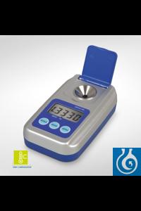 Digitales Handrefraktometer mit automatischer Temperaturkompensation: 10-40 °C Messbereiche: nD...