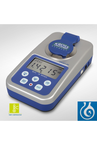 Digital handheld refractometer DR301-95 with USB interface, software and automatic temperature...