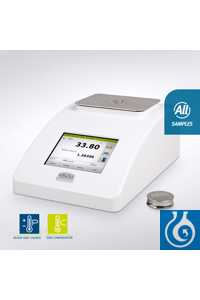 Digital refractometer DR6300-T with integrated peltier temperature control.  Measuring range:...