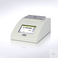Digital refractometer DR6100 with connections for water bath  Measuring range: 1.3200-1.7000 nD;...
