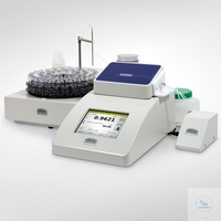 Density meter - Set 4  with oscillating U-tube,  Fully automatic sample supply  Sampling with...