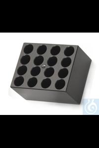 Digitales Heiz- und Kühltrockenbad, Mikroröhrchenblock 0.5ml Each 15 15...
