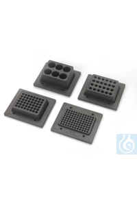 Accessories for Compact Digital Microplate Shaker 1.5mL micro tube rack Each Accessories for...
