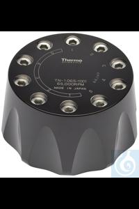 TN-1065 Festwinkelrotor 401.614 × g - 10 x 12 ml 65.000 U/min TN-1065 Festwinkelrotor Der für...