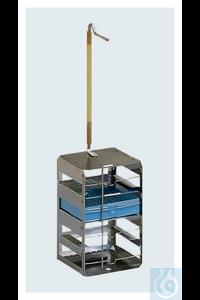 Nalgene™ Locator Plus mit Gestellen für Kryobox mit je 81 Ampullen Each Für: Locator 4 Plus...
