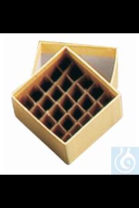 9samankaltaiset artikkelit Cryogenic Box Dividers 25-cell Divider; Cardboard Square Cryo Box - Cryogenic...