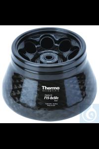 Fiberlite™ F15-8 x 50cy Fixed Angle Rotor 14,500rpm Thermo...