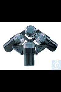 4x 180ml Ausschwingrotor 3.940×g (120V); 4.863×g (208V) -  4× 180ml...