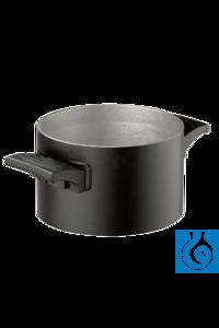 Badopzet 1 liter voor olie - voor magneetroerder Badopzet 1 liter voor olie -...