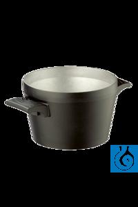Badopzet 4 liter voor olie - voor magneetroerder Badopzet 4 liter voor olie -...