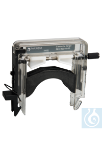 Cassette large Flow rates from 1 to 364 ml/minSuitable for tubes with...