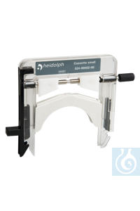 Cassette small Flow rates from 0.005 to 37 ml/min Suitable for tubes with 0.9-mm wall thickness...