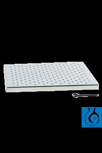Tablar 1000 mit Universallochung Zubehör Unimax 1010, Duomax 1030, Polymax 1040, Zur Verwendung...