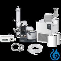 Distimatic Workstation (EU-Plug) Komplettpaket mit Vakuumpumpe, Umlaufkühler, weiterem Zubehör,...