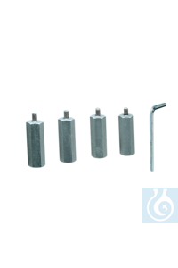 Adaptor for 1 L bottles (Set of 4) (Set of 4) Allows for the use of four...