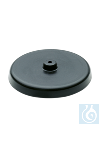 Tension plate for caps Allows for the use of common bottles with Ø 94 mm