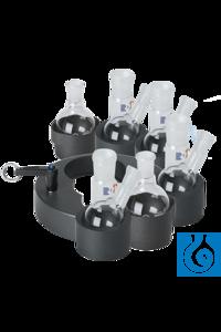 Paket Heat-On Multi-Well Magnetrührer-Aufsatz Das Paket beinhaltet: 1 x Multi-Well Halterung 6 x...