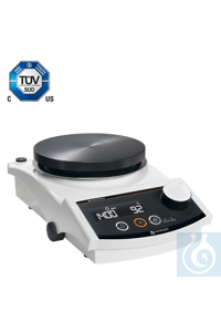 MR Hei-Connect (CH-Plug) Magnetic stirrer with RS 232 interface and timer  	The Hei-Connect comes...