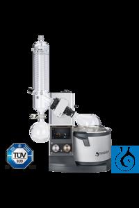 Hei-VAP Expert - motor lift with G3 XL vertical glassware (UK-Plug) Precise...
