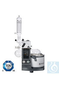 Hei-VAP Ultimate Control - hand lift with G6 vertical glassware (UK-Plug)...
