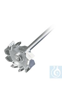Radial-Flow impeller TR 21 (AISI 316Ti) Overhead Stirrer These impellers are recommended for...