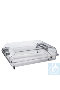 Flat hood for Incubator 1000 For small vessels   	The small incubator hood has a total height of...