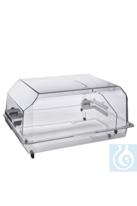High hood for Incubator 1000 For high vessels and flasks   	The high incubator hood has a total...