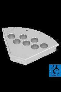 StarFish PolyBlock voor 7 x 17 mm cilindrische reactievaten StarFish...