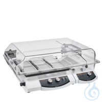 Titramax Package (EU-plug) This package includes:    One vibrating platform shaker Titramax 1000...
