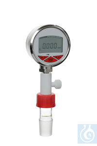 Vacuum manometer digital, -1…+2 bar, 4-digit display, Accuracy: 0, 5%, Protection:IP 65 Digital...