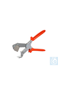 Tube cutter for outer diameters of up to 28 mm with replaceable blade Tube cutter for cutting...