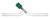Hochvakuum-Durchgangsventil, 0 - 15 mm, mit PTFE-Spindel Hochvakuum-Durchgangsventil, mit...