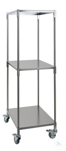 Mobile auxiliary rack, 55 x 75 x 185 cm Mobile auxiliary rack, 55 x 75 x 185 cm (L x W x H), with...