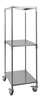 Mobile auxiliary rack 55 x 75 x 185 cm cpl. 18/8 steel Mobile auxiliary rack, dimensions: 55 x 75...